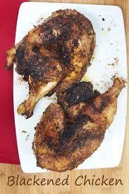 Main Dish Chicken Recipes - blackened chicken and blackening seasoning recipe