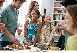 family meal stock photos family meal stock images alamy