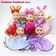 baby keychains toys 18cm princess baby dolls key chain doll keychain for