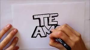 imagenes de amor para dibujar grandes cómo dibujar te amo letras dibuja conmigo dibujos de amor youtube