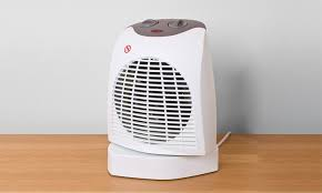 oscillating fan and heater up to 55 off silentnight fan heater groupon