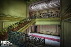 Looking Down Stairs by