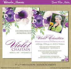 amazing ideas funeral invitation card modern designing template