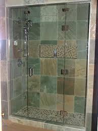 glass shower doors custom decorative bathroom frameless glass