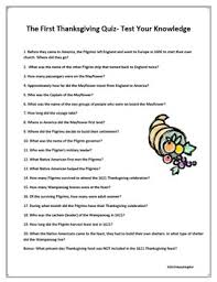thanksgiving quiz test your thanksgiving knowledge by happyedugator