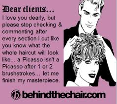 Cosmetology Memes - really funny quotes from clients perfect funny hair color quotes