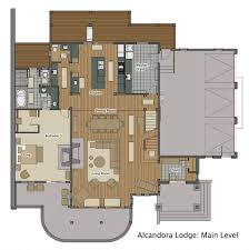 ski chalet house plans ski chalet near steamboat springs alcandora lodge