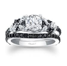 black diamond wedding set 20 gorgeous black diamond engagement rings black diamond