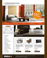 website template 19048 furniture store online custom website