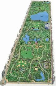 Map Central Park 2007 Central Park Map Maps And Infographics Pinterest
