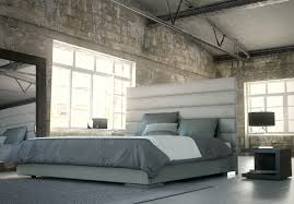 bed u0026 bath industrial ceilings and concrete walls with french