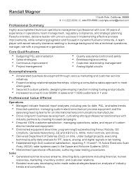 summary of accomplishments resume professional technical operations manager templates to showcase professional technical operations manager templates to showcase your talent myperfectresume