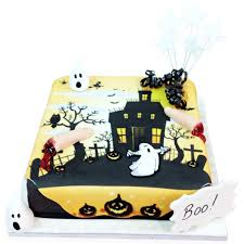 Haunted Halloween Gift by Haunted House Cake Halloween Cakes The Brilliant Bakers