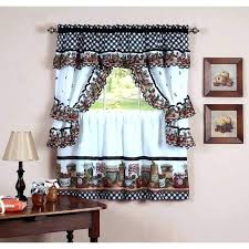 Brown Gingham Curtains Grey And White Kitchen Curtains Brown Gingham Curtains Medium Size