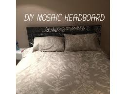 diy mosaic headboard youtube