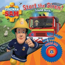 fireman sam start siren emergency sound book egmont