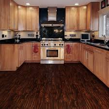 Kitchen Cabinets Oak Flooring Oak Kitchen Cabinets With Cooper Range Hoods And Dark