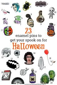it u0027s halloweek 23 enamel pins for halloween revel and glitter