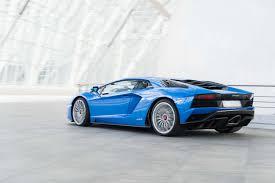 lamborghini urus blue 2018 lamborghini aventador s first drive review