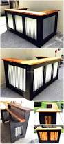 Pallet Furniture Patio by Best 10 Pallet Bar Ideas On Pinterest Diy Bar Outdoor Bar