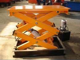 fixed scissor lift table jinrui machinery