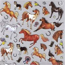 cowboy wrapping paper awst international stickers different breeds gass