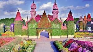 Beautiful Gardens In The World Miracle Garden Dubai Most Beautiful Place In The World