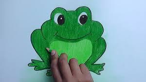 imagenes de un sapo para dibujar faciles como dibujar y pintar a sapo verde how to draw and paint sapo