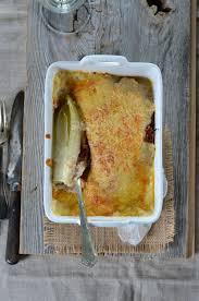 cuisiner endives au jambon gratin d endives au jambon recette tangerine zest