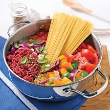 cuisiner steak haché spaghettis au boeuf haché sauce tomate recettes cuisine et