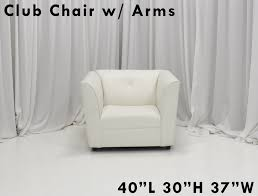 White Leather Club Chairs Hollywood White Leather Chair U2013 Lounge Around