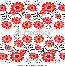 20 best red flowers vector images on pinterest abstract