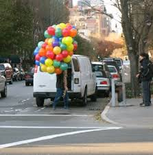 balloon delivery 100 helium balloons this is not a slog