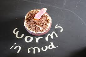 worms in mud cupcakes and more halloween ideas u2013 baking with gab