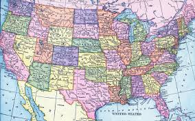 highway map of the united states road map of the united states of america