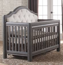 pali cristallo forever crib with fabric upholstery kids n cribs