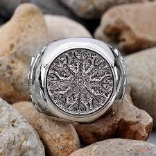 Viking Wedding Rings by Aliexpress Com Buy 1pc Slavic Ring Vegvisir Compass Anel Viking