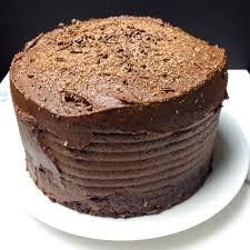 chocolate fudge layer cake kellie rice cakes