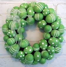egg wreath green egg wreath crafts easter wreaths and egg