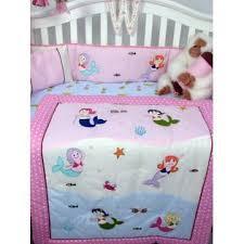 Soho Crib Bedding Set Soho Designs Soho Mermaids Baby Crib Nursery Bedding Set 14 Pcs