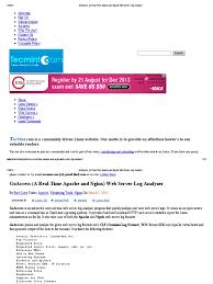 http access log analyzer goaccess a real time apache and nginx web server log analyzer pdf