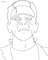 lovely frankenstein coloring page 76 for coloring pages for kids