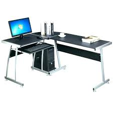 l shaped computer desk target l glass desk thesocialvibe co