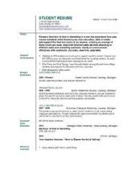 student cv exle of a student resume 100 images 33 best resume images