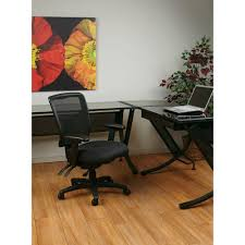 pro line ii black progrid mid back manager office chair 92343 30
