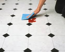 Retro Linoleum Floor Patterns by Vinyl Versus Linoleum Flooring