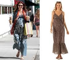 robe de chambre grossesse alyson hannigan hippie décontractée