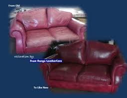 Leather Chair Restoration Total Apparel Care Denver Leather Furniture Restoration Before