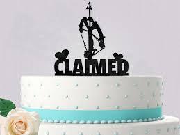 walking dead cake ideas claimed daryl the walking dead cake topper 2453246 weddbook