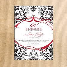 Invitation Card Birthday 60th Birthday Invitation Ideas 60th Birthday Invitation Ideas In